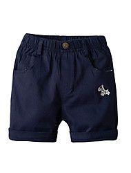 cheap -Kids Toddler Boys' Basic Street chic Solid Colored Shorts Royal Blue