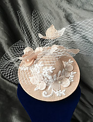 cheap -The Marvelous Mrs. Maisel Retro Vintage Party Costume Felt Hats Kentucky Derby Hat Women's Costume Hat Beige Vintage Cosplay Event / Party Long Sleeve