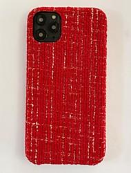 Недорогие -чехол для iphone 11 совместим с apple iphone11 pro max чехол осень зима теплый роскошный бампер вязаный симпатичный защитный чехол для яблока iphone 7 / iphone 8 / iphone x чехол