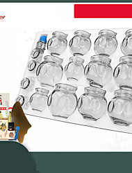 cheap -16P Gas tank vacuum cupping device / household suction cupping cup / glass beauty salon special cupping / dehumidification genuine set