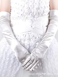 Недорогие -Перчатки Без пальцев Satin Назначение Кошка Косплей Хэллоуин Карнавал Жен. Бижутерия Модное ювелирное украшение