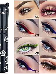 cheap -Eyeliner Waterproof / Matte / Easy to Carry Makeup 1 pcs Liquid Lady / Eye / Daily Matte / High Quality Party / Evening / Gift / Daily Daily Makeup / Party Makeup / Fairy Makeup Fast Dry Coloured