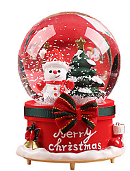 cheap -Music Box Holiday Retro Creative Unique Crystal Resin Glass Women's All Girls' Kid's Adults Child's Adults' 1 pcs Graduation Gifts Toy Gift