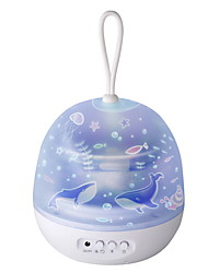 cheap -LED Night Light Tiktok Star Light Projector Staycation USB Powered Creative Gift For Baby Bedroom Upgraded Version