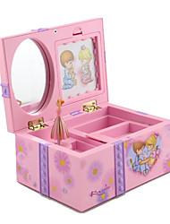 Недорогие -Шкатулка - Розовый, Светло-фиолетовый 17 cm 10 cm 8 cm / Жен.