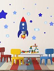cheap -Decorative Wall Stickers - Plane Wall Stickers Stars Nursery / Kids Room 20*96cm