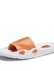 cheap -Men's Slippers & Flip-Flops Daily EVA(ethylene-vinyl acetate copolymer) Black Blue Orange Spring Summer