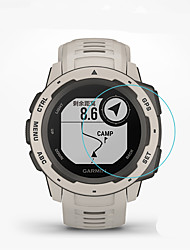 cheap -Smart Watch Screen Protector for Garmin instinct Tempered Glass High Definition (HD)  Anti Scratch Bubble Free Clear Film 1 pc