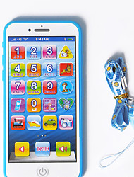 cheap -HS-945 Toy Phone Educational Toy Learning Pad Y-phone Touch Screen Rechargeable Cool Simulation Parent-Child Interaction Music & Light Music with Screen Kid's Child's All 1 pcs Toy Gift