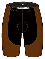 cheap -21Grams Women's Cycling Shorts Bike Pants / Trousers Padded Shorts / Chamois Bottoms Breathable 3D Pad Quick Dry Sports Brown Mountain Bike MTB Road Bike Cycling Clothing Apparel Bike Wear / Stretchy