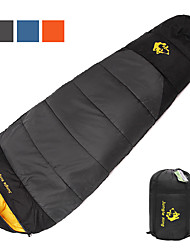 cheap -Sleeping Bag Outdoor Camping Mummy Bag -2~15 °C Polyester Portable Breathable Warm Compact Durable Inner Pockets Skin Friendly 220*80 cm Autumn / Fall Winter for Fishing Climbing Camping / Hiking