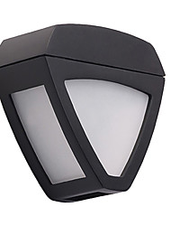 cheap -1pcs Solar Powered Wall Light Outdoor Waterproof 2LED Lamp Wireless for Fence Garden Yard Lawn Roof Landscape Lighting Decoration