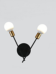 cheap -Nordic Bedside Lamp American Style Living Room Background Wall Lamp Wall lamp simple crystal balcony stairway lighting