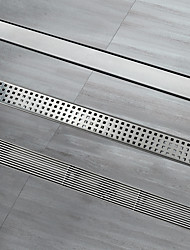 cheap -Linear Drain New Design Stainless Steel 60cm Bathroom Floor Mounted