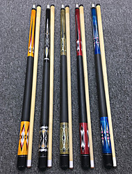 cheap -CUESOUL® 2-Piece Pool Cues Cue Sticks Maple Pool Nine-Ball 1pc Sports Portable High Quality