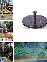 cheap -MINI Solar Powered Floating Bird Bath Water Panel Fountain Pump Garden Pond Pool