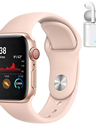 cheap -H55 Smartwatch for Apple/ Samsung/ Android Phones,Bluetooth Fitness Tracker Support Heart Rate Monitor Blood Pressure Measurement