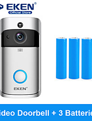 cheap -EKEN V5 Smart WiFi Video Doorbell With 3*18650 Battery