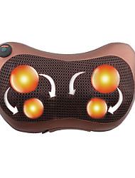 Недорогие -1 кнопка расслабляющая массажная подушка вибратор электрическое нагревание спины разминание замешивание инфракрасная терапия для массажа шеи шиацу