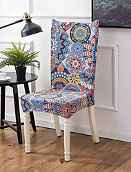 cheap -Chair Cover Romantic / Scenery / Classic Printed Polyester Slipcovers