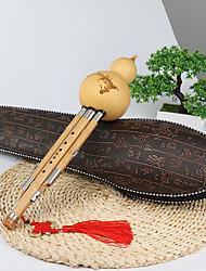 abordables -Flûte à cucurbitacées Cucurbit Flute Bois / Bambou 30*5*5 cm Do