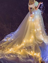 Недорогие -2шт 2м 20led струнные фонари с питанием от батареи сказочные огни гирлянды на Рождество украшение свадебной вечеринки