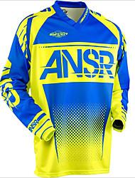 Недорогие -Скорость вниз лето горный кросс кантри мотоцикл костюм мотоциклетный джерси на заказ велосипедный костюм с длинным рукавом для мужчин