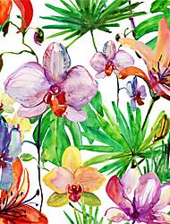Недорогие -штейн / С цветами 58 cm 60 cm Матовое стекло / Стикер на окна / Матовая ПВХ
