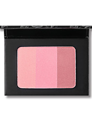 cheap -3 Colors Dry Brightening / Casual / Daily / Convenient Blush China Sweet / Fashion Women / Durable / Youth School / Date / Quinceañera & Sweet Sixteen Quadrate Makeup Cosmetic