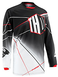 cheap -Summer outdoor mesh sun protection motorcycle clothing equipment cycling Top Men's fast dry speed down Long Sleeve T-Shirt