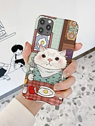 cheap -Funny Cat Case for iPhone 8/7 3D Cute Cartoon Funny Design Character Protective Fashion Fun Sweet Cool Cover Skin Teens Girls Cases for iPhone 11 pro