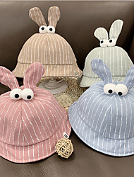 cheap -Toddler / Infant Unisex Active / Sweet Animal Cotton Hats & Caps Blushing Pink / Blue / Khaki One-Size