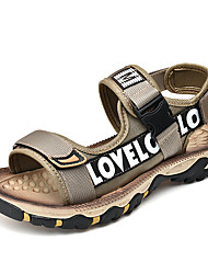 cheap -Men's Light Soles Satin Summer / Spring & Summer Sporty / Casual Sandals Upstream Shoes Breathable Black / Brown / Khaki