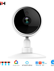 cheap -RSH Home Security Wireless IP Camera with Alexa, Wide Angle Lens, Two-Way Audio, Night Vision and Indoor Motion Detection