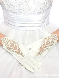cheap -Gloves Lace Fingertips Satin For Bride Cosplay Halloween Carnival Women's Girls' Costume Jewelry Fashion Jewelry