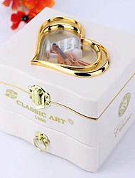 cheap -Music Box Musical Jewellery Box Cute Singing Lovely Unique Plastic Shell Women's All Girls' Kid's Adults Child's 1 pcs Graduation Gifts Toy Gift