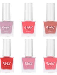 cheap -6 Colors Wet Brightening / Safety / Convenient Blush China Sweet / Fashion Universal / Easy to Carry / Youth Date / Birthday Party / Festival Makeup Cosmetic
