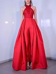 abordables -Diva Rétro Vintage Disco Années 80 Robe Femme Costume Rouge Vintage Cosplay Soirée Sans Manches