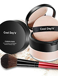 cheap -Single Colored 1 pcs Dry Long Lasting / Concealer / Natural Cosmetic / Foundation / Cream # Classic / Traditional Easy to Carry / Women / Easy to Use Round Makeup Cosmetic Plastic Shell