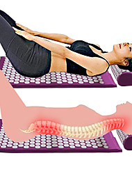 cheap -Acupressure Mat and Pillow Set Yoga Mat Sports ABS Foam Cotton Ergonomic Design Easy to Carry Collapsible Massage Promote the head's blood circulation Relieve Neck and Shoulder Pain For Men Women