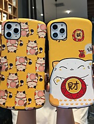 cheap -Case for iPhone X Funny Lucky Cat Protective Fashion Cool Cover Skin Teens Boys Girls Cases for iPhone 6 / iPhone 7/ iPhone 11 pro