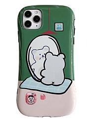 cheap -iPhone 11 Pro Max Cute Case FGA Couple Models Bear Rabbit daily Cute Lightweight Protective Slim Fit Flexible Soft TPU Bumper Gel Case Cover for iPhone 11 Pro Max / iPhone 11 / iPhone 11 Pro