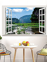 cheap -Dashan River Removable Wall Sticker Room Living Room Wall Stickers Art Decorative Animal Wall Stickers For Living Room 60*90cm