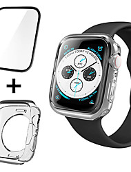 cheap -Screen Protector Tempered Glass and Cases For Apple Watch Series 4/3/2/1 High Definition (HD) / Explosion Proof 1 pc
