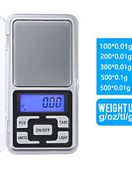 cheap -0.01-500g Weigh Digital Kitchen Scales Jewelry Scales LCD Display Mini Electronic Scale Balance Pocket Scale Kitchen tools