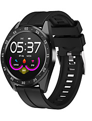 cheap -S10 Smartwatch for Samsung/ Iphone/ Android Phones, Support Heart Rate/ Blood Pressure Monitor IP67 Waterproof Fitness Tracker