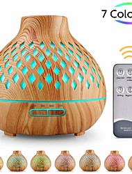 cheap -Aroma diffuser 400ml humidifier Ultrasonic fragrance lamp Atomization Electric diffuser with 7 colors LED Essential oils Humidifier for home yoga office SPA bedroom