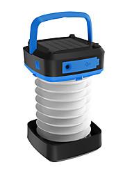 Недорогие -Походные светильники и лампы Аварийные лампы огни безопасности Водонепроницаемый 100 lm Светодиодная лампа LED излучатели с зарядным устройством Водонепроницаемый Портативные Складной