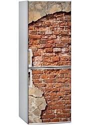 Недорогие -Геометрия Наклейки Простые наклейки Наклейки на холодильник, PVC Украшение дома Наклейка на стену Холодильник Украшение 1шт
