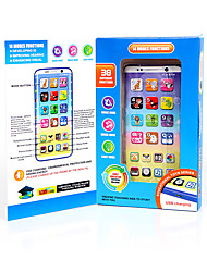 cheap -HS-YS2603A Toy Phone Educational Toy Learning Pad Y-phone Touch Screen Rechargeable Cool Simulation Parent-Child Interaction Music & Light with Screen Kid's Child's All 1 pcs Toy Gift